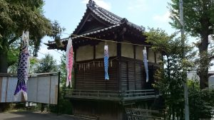 中井御霊神社 神楽殿
