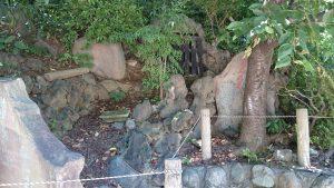 駒込富士神社 富士講碑群・御胎内