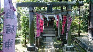 中井御霊神社 稲荷神社 (1)