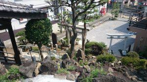 北町浅間神社 山頂眺望