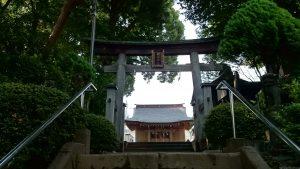 大松氷川神社 二の鳥居