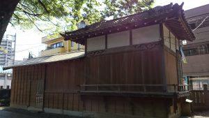 江古田浅間神社 神楽殿