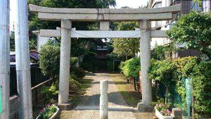 大松氷川神社 一の鳥居