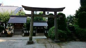 徳丸北野神社 境内社鳥居