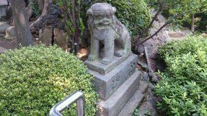 大松氷川神社 狛犬 (2)