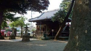 四葉稲荷神社 拝殿