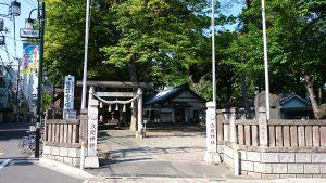 江古田浅間神社 社頭・鳥居