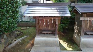徳丸北野神社 杵築神社・稲荷神社
