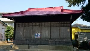 大松氷川神社 神楽殿