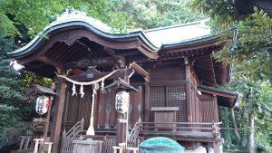 正八幡神社 拝殿