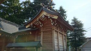 大松氷川神社 本殿
