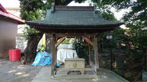 大松氷川神社 手水舎