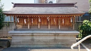 大松氷川神社 境内末社合祀殿