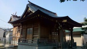 大松氷川神社 社殿