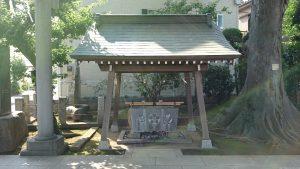 徳丸北野神社 手水舎 (1)