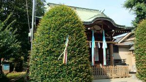 徳丸北野神社 拝殿