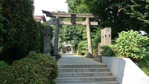 徳丸北野神社 一の鳥居