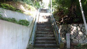 太田神社 石段