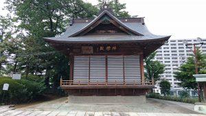 赤羽北諏訪神社 神楽殿