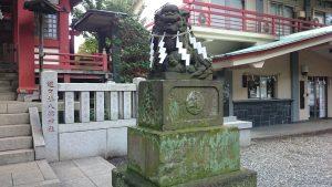 道々橋八幡神社 狛犬 (2)