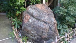 腰掛稲荷神社 菊花石 (2)