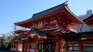 千葉神社 分霊社・尊星殿 境内側