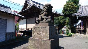 太田神社 狛犬 (1)
