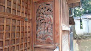 赤羽北諏訪神社 大黒彫刻