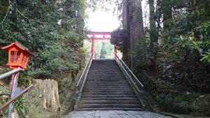 箱根神社 参道石段