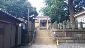 上田端八幡神社 参道