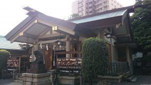 天祖諏訪神社 拝殿