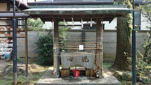 東玉川神社 手水舎