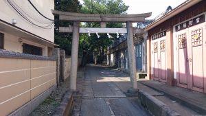 田端八幡神社 一の鳥居