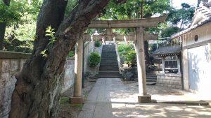 田端八幡神社 ニの鳥居