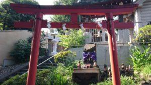 田端八幡神社 稲荷社