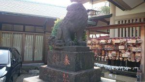 天祖諏訪神社 狛犬 (1)