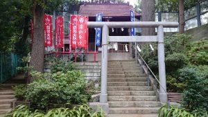 大田区 石川神社 鳥居・社殿