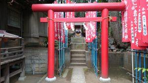 田園調布八幡神社 稲荷神社 (1)
