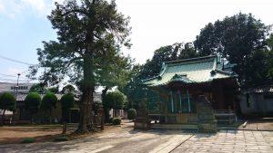 赤羽北諏訪神社 境内