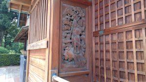 赤羽北諏訪神社 恵比寿彫刻