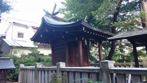 上田端八幡神社 本殿