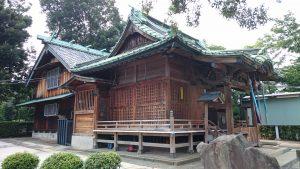赤羽北諏訪神社 社殿全景
