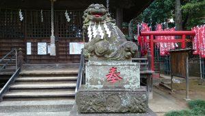 田園調布八幡神社 狛犬 (2)