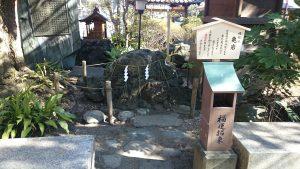 千葉神社 亀岩