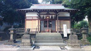 上田端八幡神社 拝殿