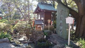 千葉神社 延寿の井と美寿之宮