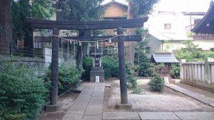 上田端八幡神社 境内社