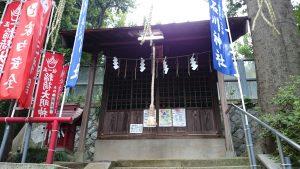 大田区 石川神社 社殿