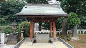赤羽北諏訪神社 手水舎