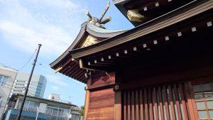 田端八幡神社 本殿
